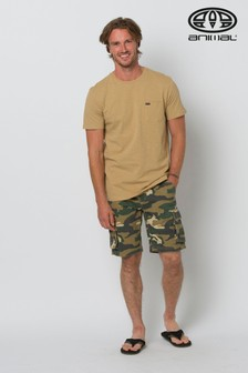 Animal Camo Mazo Walk Shorts
