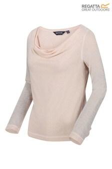 Regatta Kimberley Walsh Frayda Long Sleeve Cowl Neck T-Shirt