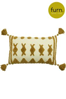Esme Tassel Cushion by Furn