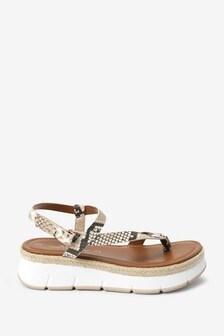 Toepost Sport Flatform Sandals