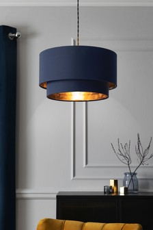 Navy Rico 2 Tier Large Easy Fit Shade