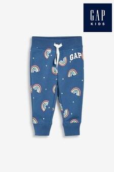Gap Rainbow Print Joggers