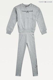 Tommy Hilfiger Grey Essential Leggings Set