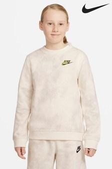 Nike Tie Dye Sweat Top