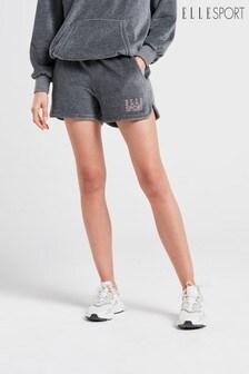 ELLE Sport Yoga Velour Shorts
