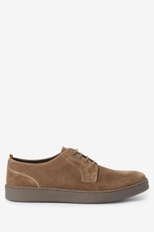 Suede Derby Cupsole Shoes