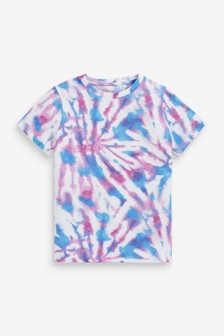 Relax Fit Tie Dye T-Shirt (3-16yrs)