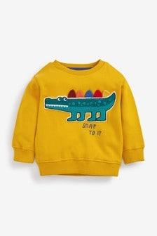 Bouclé Crew Neck Sweater (3mths-7yrs)