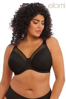 Elomi Black Moulded Non Padded Bra