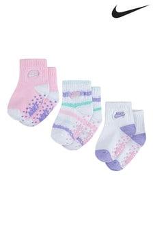 Nike Baby Pastel Chalk Socks 3 Pack