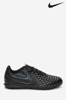 Nike Black Tiempo Club Junior & Youth Turf Football Boots