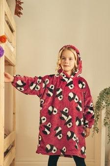 Oversized Fit Fleece Poncho (3-16yrs)