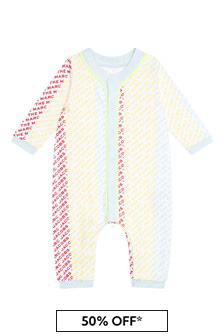 Marc Jacobs Baby Unisex Multicoloured Cotton Babygrow