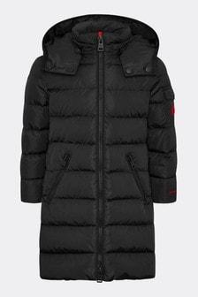 Girls Black Lemenez Coat