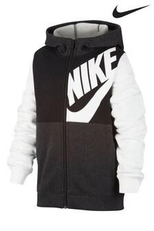 Nike Black/White Overhead Hoody