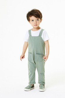 Jersey Dungarees (3mths-7yrs)