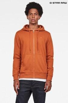 G-Star Graphic 8 Zip Through Sweater