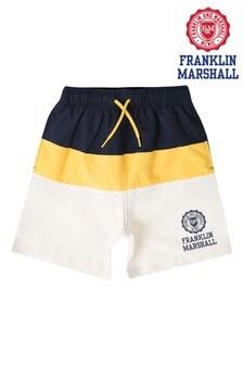 Franklin & Marshall Colourblock Swim Shorts