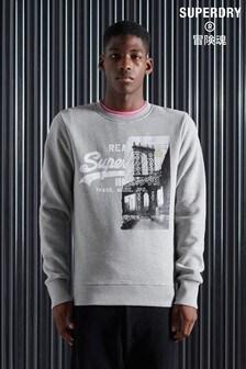Superdry Vintage Logo NYC Phoyo Sweatshirt