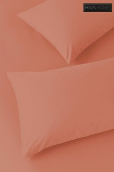 Set of 2 250 Thread Count Stonewash Pillowcases by Riva Home