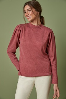 Knitlook High Neck Top