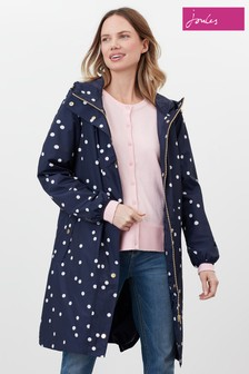 Joules Blue Waybridge Waterproof Raincoat