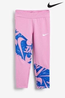 Nike Little Kids Pink Markermash Leggings