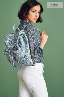 Morris & Co at Next Quilted Cotton Rucksack