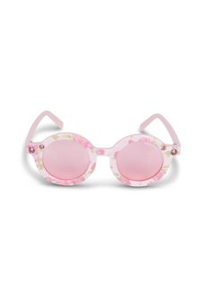 Monnalisa Girls White Sunglasses