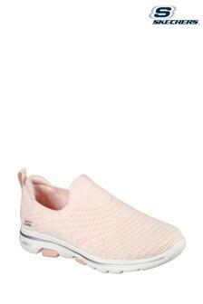 Skechers® Pink Go Walk 5 Coastal View Trainers