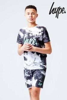 Hype. Mono Spray T-Shirt