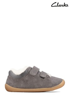 Clarks Grey Roamer Craft T Shoes