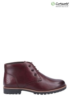 Cotswold Purple Mollington Below Ankle Boots