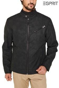 Esprit Outdoor Woven Biker Jacket