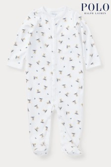 Ralph Lauren Bear Sleepsuit