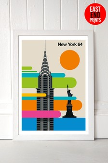 New York 64 Print by East End Prints