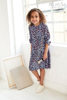 Mintie by Mint Velvet Blue Sia Print Dress