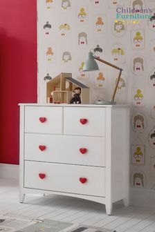 Holly 4 Drawer Dresser By The Childrens Furniture Company