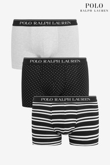 Polo Ralph Lauren Stretch Cotton Trunks Three Pack
