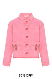 Billie Blush Girls Pink Jacket