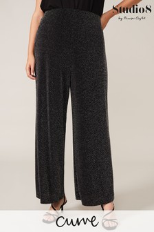 Studio 8 Gunmetal Corinne Sparkle Trousers