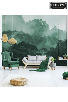 Eighty Two Misty Rainforest Wall Mural