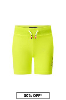 Tommy Hilfiger Boys Lime Cotton Shorts