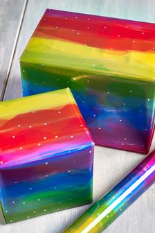 6M Rainbow Wrapping Paper
