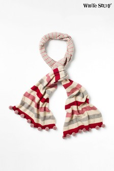White Stuff Natural Stripe Pippa Scarf