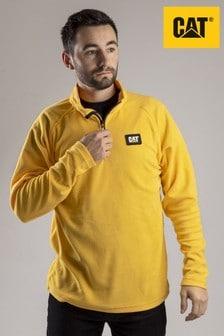 CAT® Yellow Concord Fleece Pullover Fleece