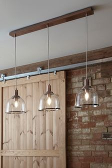 Gloucester 3 Light Linear Bar