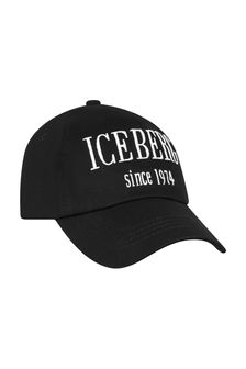Ice Iceberg Boys Black Cap