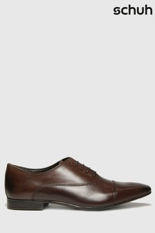 Schuh Brown Russel Toe Cap Oxford Shoes