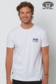 Animal White Heritage Graphic T-Shirt
